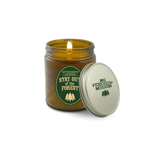 Stay Out of the Forest Candle